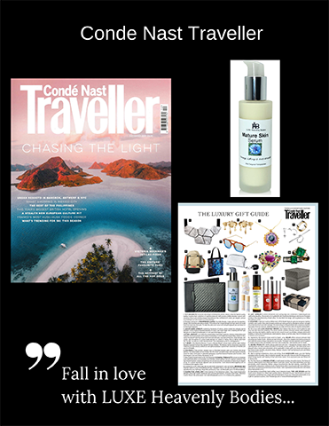 Conde Nast Traveller Dec 2019 Luxury Guide and Cover 2019
