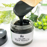 Little Black Masque. with Organic Honey, Activated Charcoal, Colloidal Oats & Marshmallow Root.