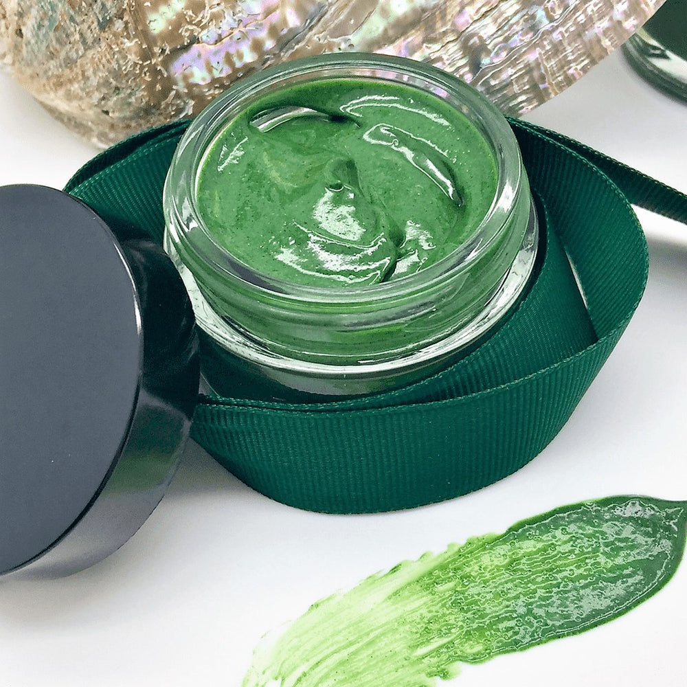 PowerHouse Sweet Greens Mask, with Spirulina, Honey & Chlorella