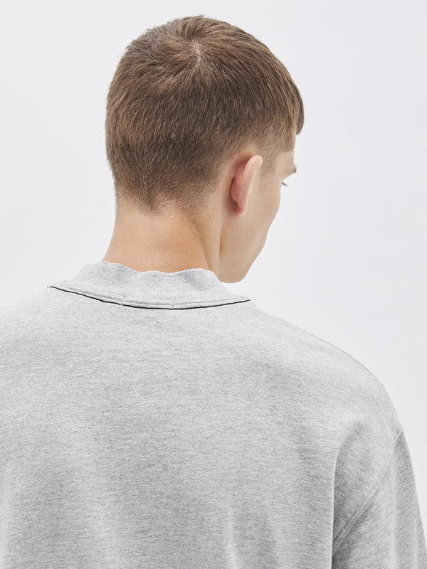 branded boxy sweat