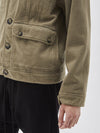 herringbone cargo jacket