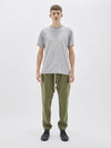 slub patch pant