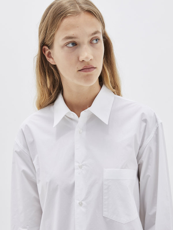 longerline man style shirt