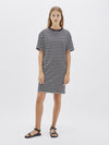 boxy rib t.shirt dress