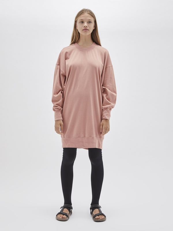 boxy long sleeve sweater dress