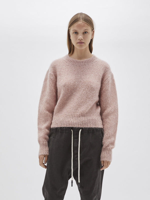 batwing mohair knit