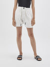 canvas relaxed short