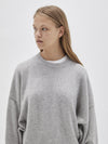 oversized cashmere knit