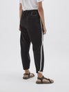Fleece Tied Hem Trackpant