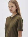 fitted crew short sleeve t.shirt Dress
