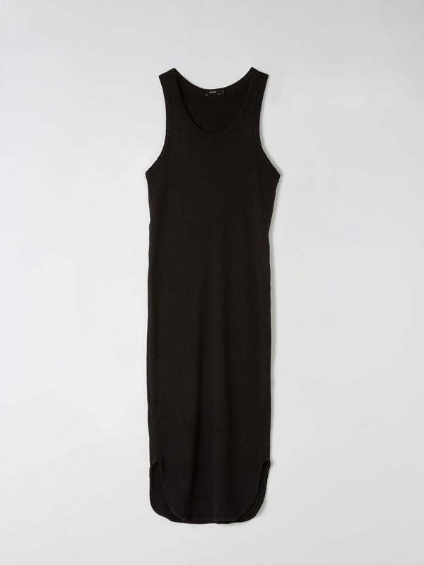 athletic rib tank dress