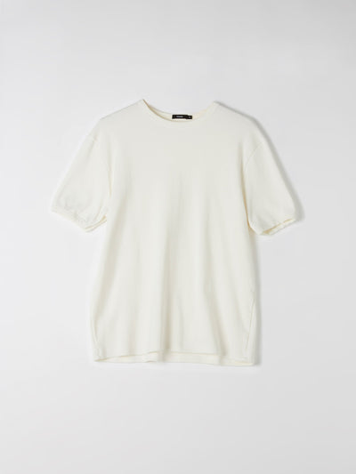 rib cotton t.shirt