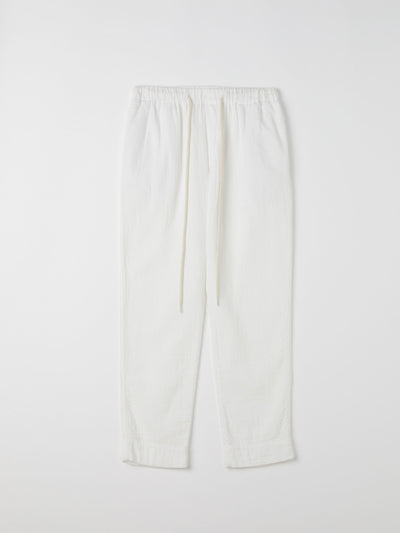 washed herringbne pull on pant