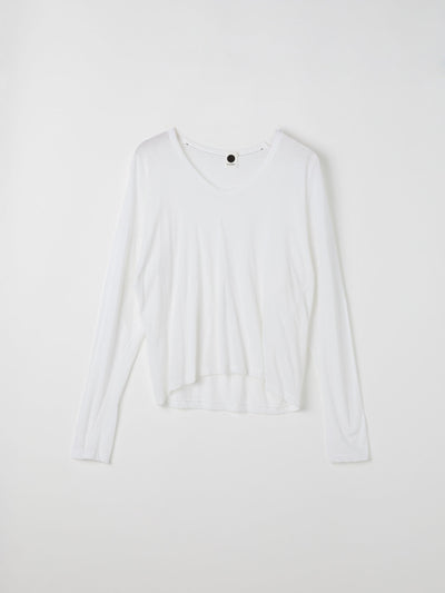 scoop heritage boxy long sleeve t.shirt