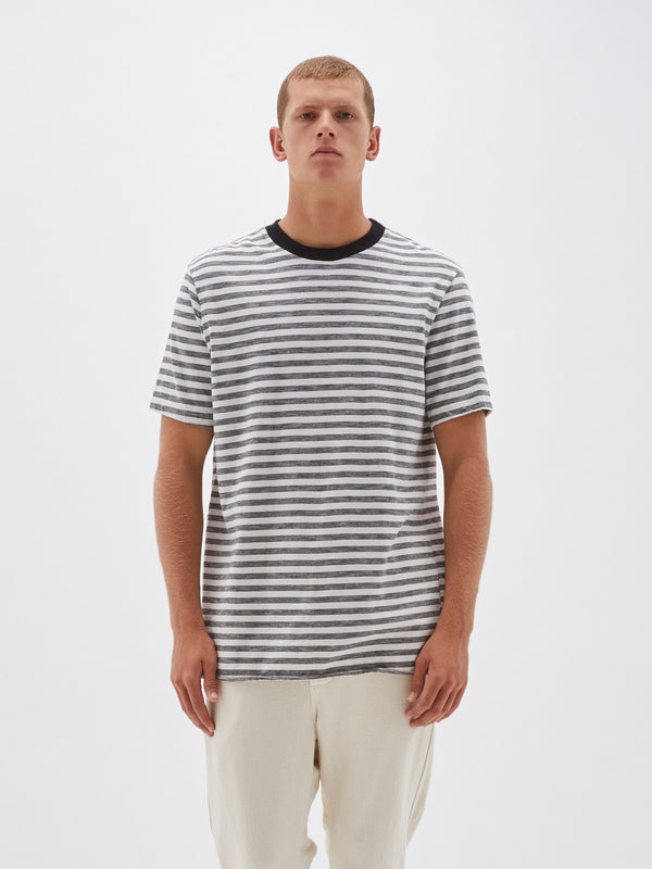 220 slub stripe t.shirt