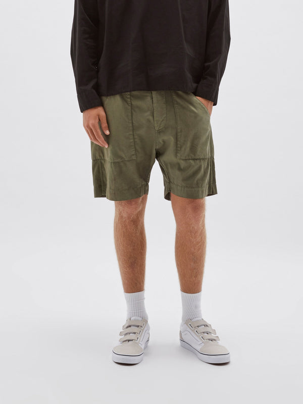 military twill short