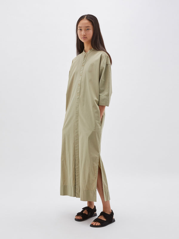 cotton short sleeve shirt dress