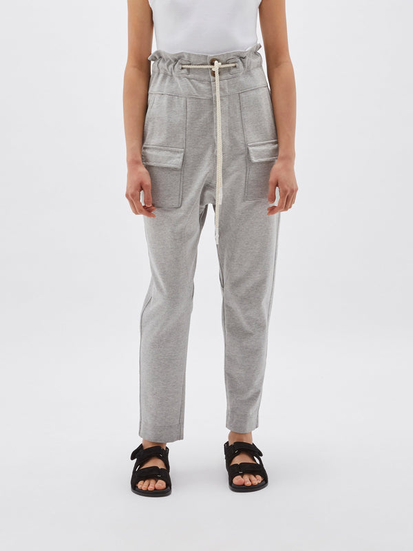 fleece high waisted utility pant