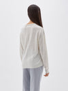 cotton linen pocket knit