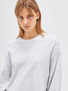 cropped midweight sweat
