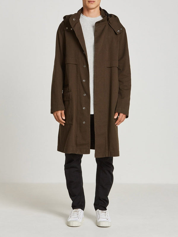 army twill trench