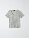 scoop neck t.shirt