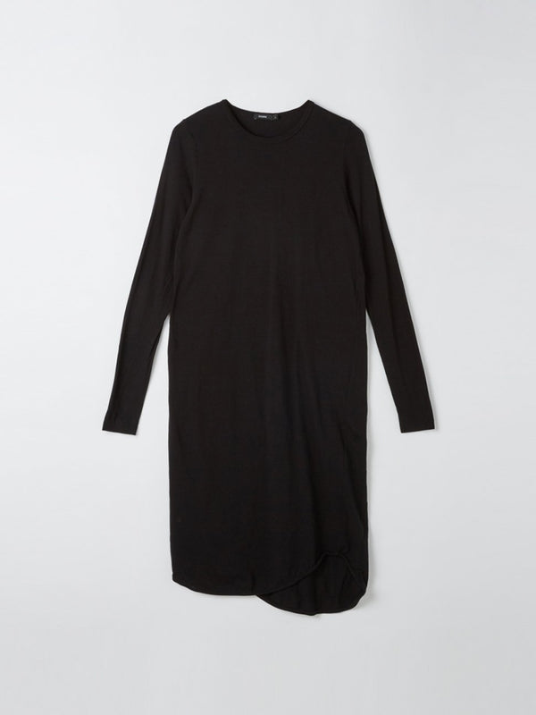 french seam long sleeve t.shirt dress