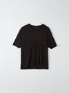 relaxed vintage neck t.shirt