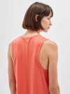 t.back boxy dress with tail
