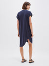 boxy t.shirt dress with tail II