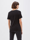fitted v neck t.shirt