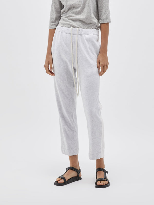 canvas wide stripe trackpant