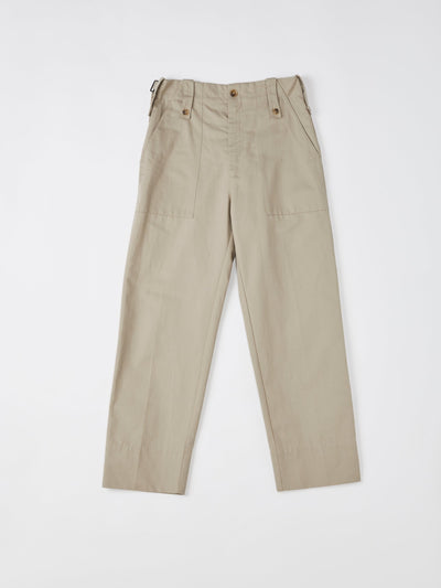 drill tapered utility pant