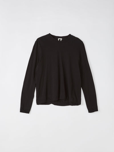 boxy classic crew long sleeve t.shirt
