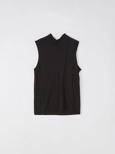 slim funnel neck tank