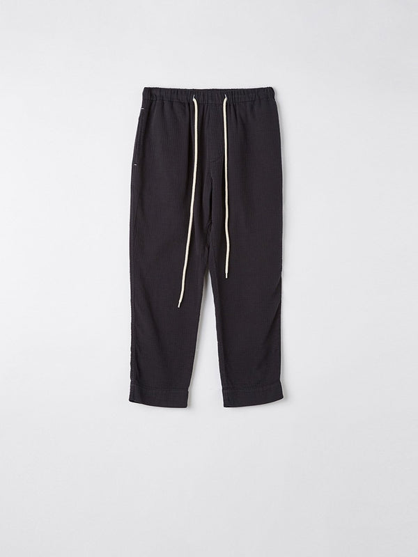 washed herringbone pull on pant