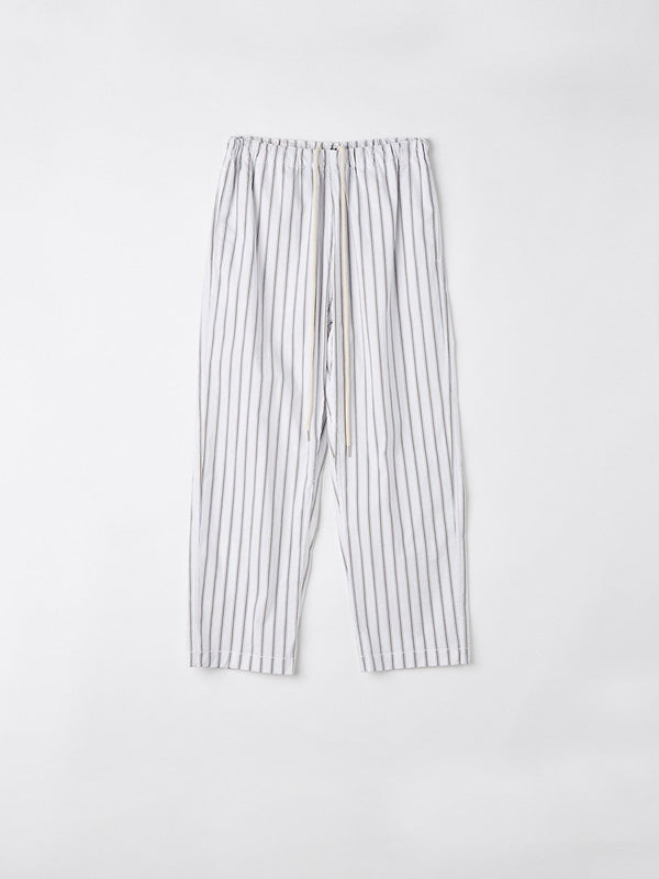 stripe cotton pull on pant