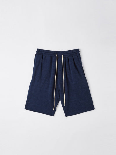 slub fleece short