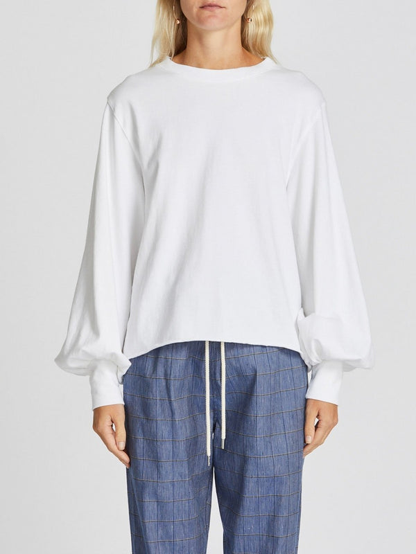 240 jersey voluminous sleeve top