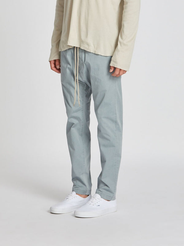 washed drill pant