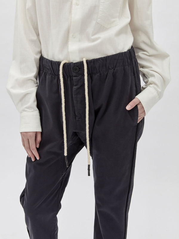 canvas side detail relaxed pant