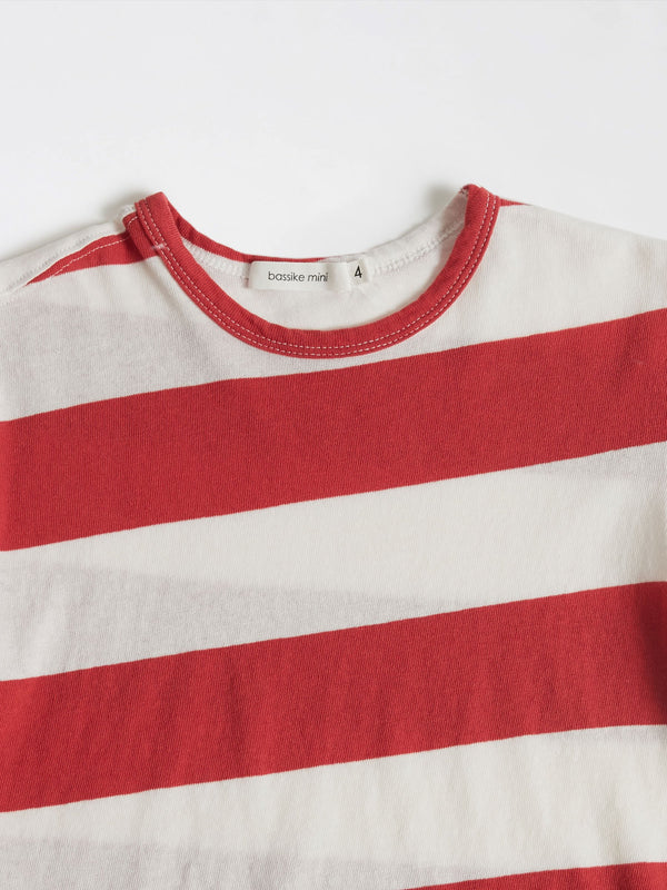 mini striped boxy t.shirt