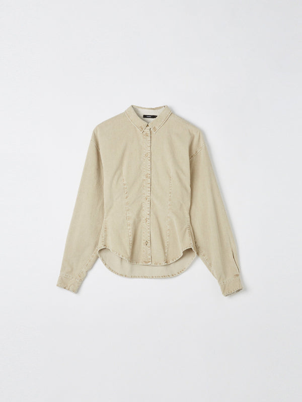 cord darted shirt