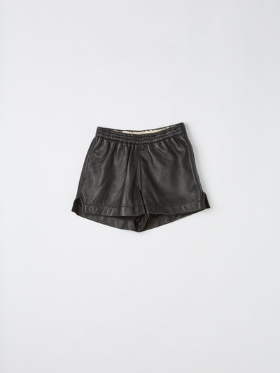 leather gardening short
