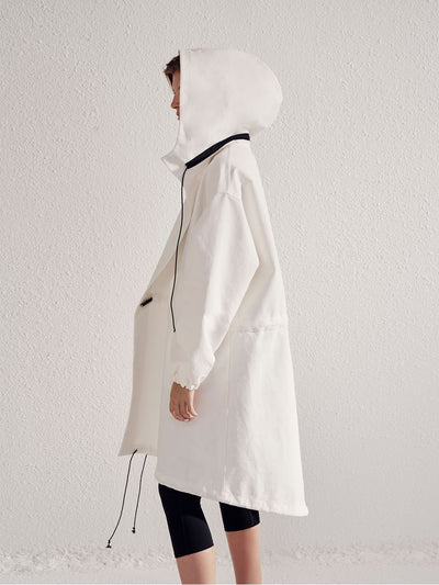 athletic cotton anorak