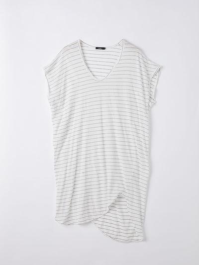boxy t.shirt dress with tail
