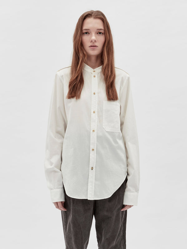lightweight twill utility shirt