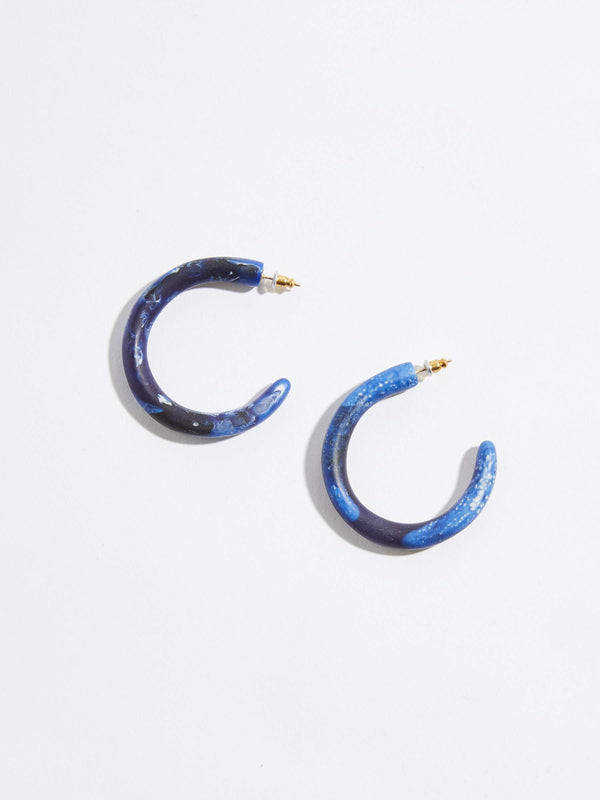 dinosaur designs medium loop earrings