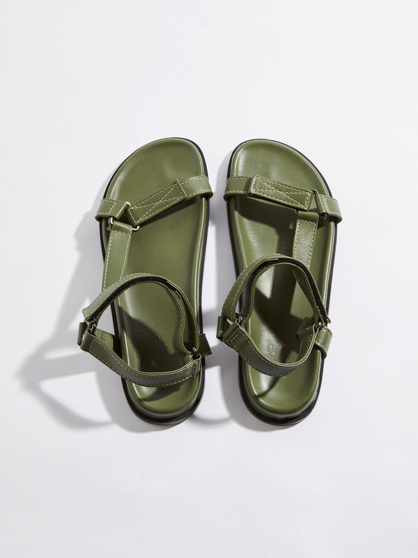 leather hiker sandal