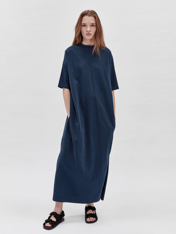 wide heritage short sleeve t.shirt dress